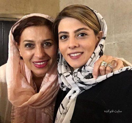 عکس مهسا طهماسبی و عمه اش مائده طهماسبی
