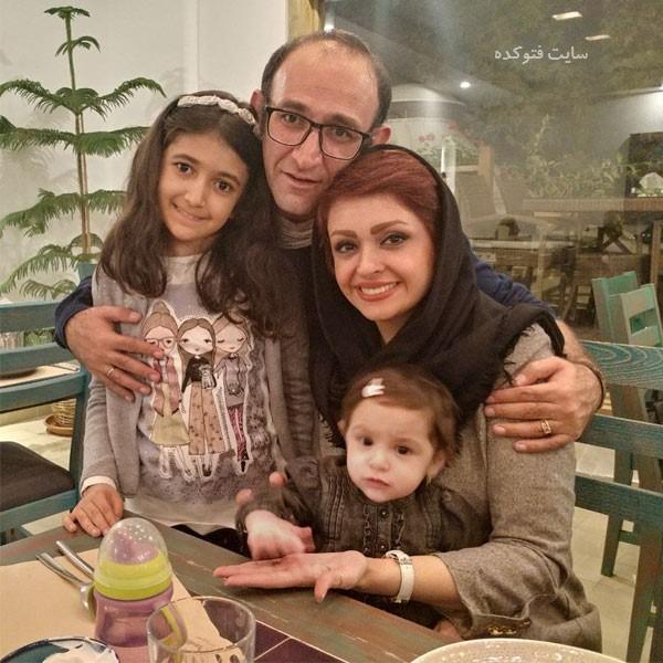 عکس های مهشید ناصری و همسرش