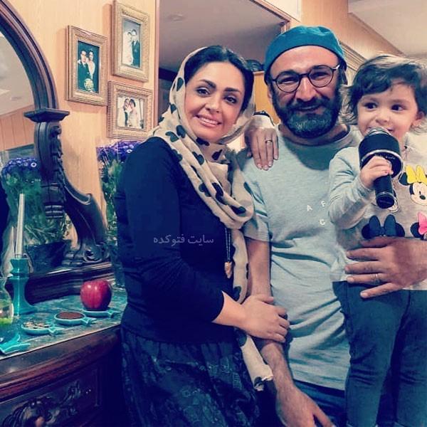 همسر مهشید ناصری آقای هدایت هاشمی