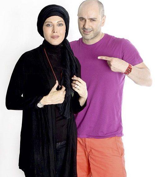 عکس مهتاب کرامتی و همسرش بابک ریاحی پور + بیوگرافی