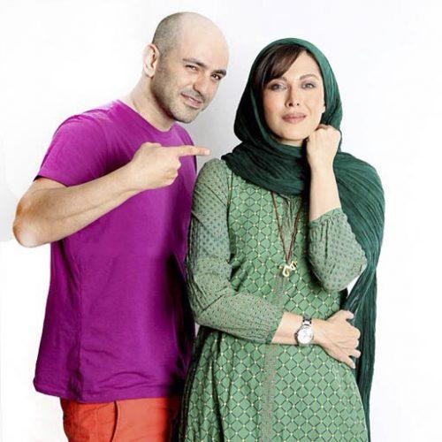 مهتاب کرامتی و همسرش + زندگینامه