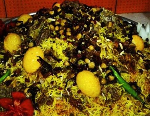 طرز تهیه غذای عربی مجبوس باگوشت
