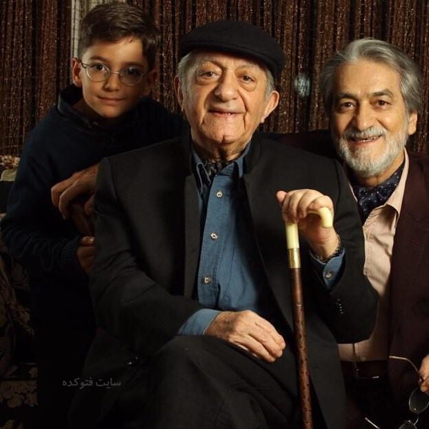 مجید انتظامی در کنار پدر و نوه اش + بیوگرافی کامل