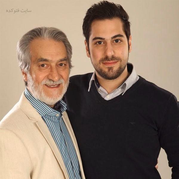 عکس های مجید انتظامی و پسرش سروش + زندگی شخصی