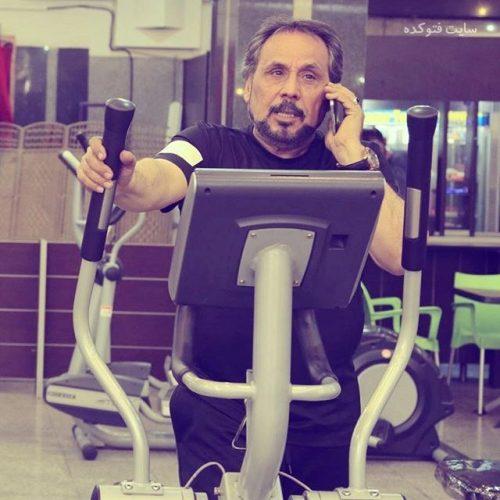 عکس لو رفته از مجید قناد در باشگاه ورزشی بدنسازی + بیوگرافی
