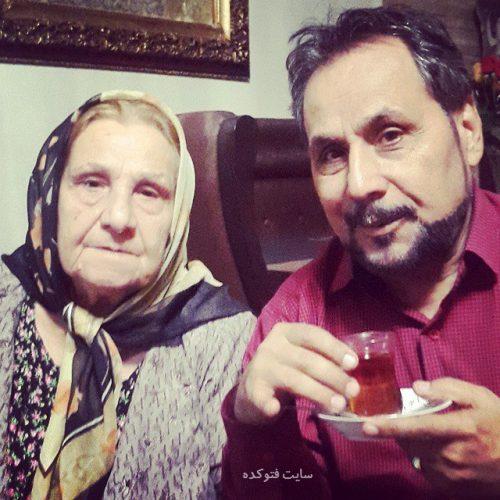 عکس مجید قناد و مادرش + بیوگرافی و زندگینامه کامل خانوادگی