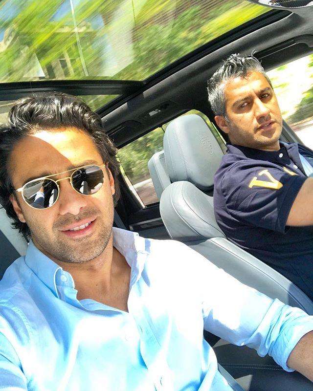 عکس فرهاد مجیدی و برادرش فرزاد مجیدی + بیوگرافی