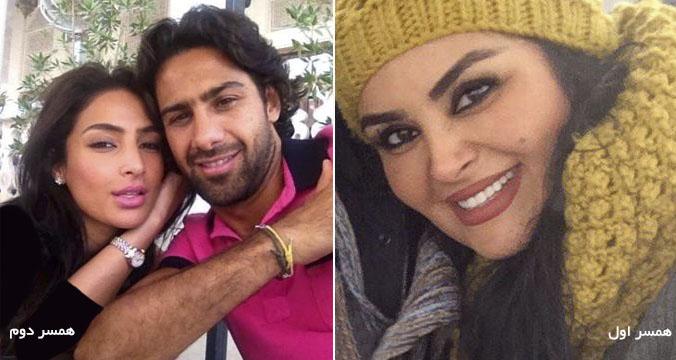 عکسر همسران فرهادی مجیدی,عکس همسر اول فرهاد مجید عکس همسر دوم فرهادی مجیدی