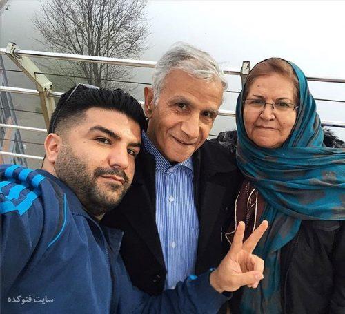 عکس مجید خراطها و پدر و مادرش + زندگینامه و بیوگرافی کامل