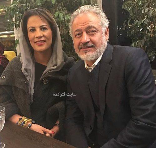 عکس مجید مشیری و همسرش نازی + بیوگرافی کامل