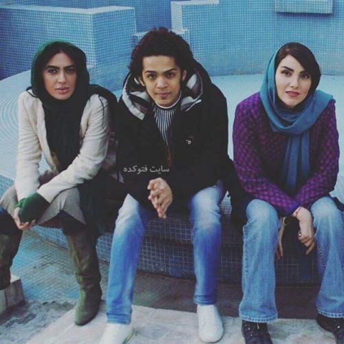 عکس مجید نوروزی در کنار مرجان شیر محمدی و صدف نورمحمد + بیوگرافی