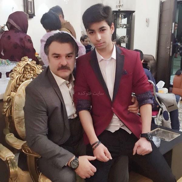 عکس مجید سعیدی و پسرش کیارش + بیوگرافی