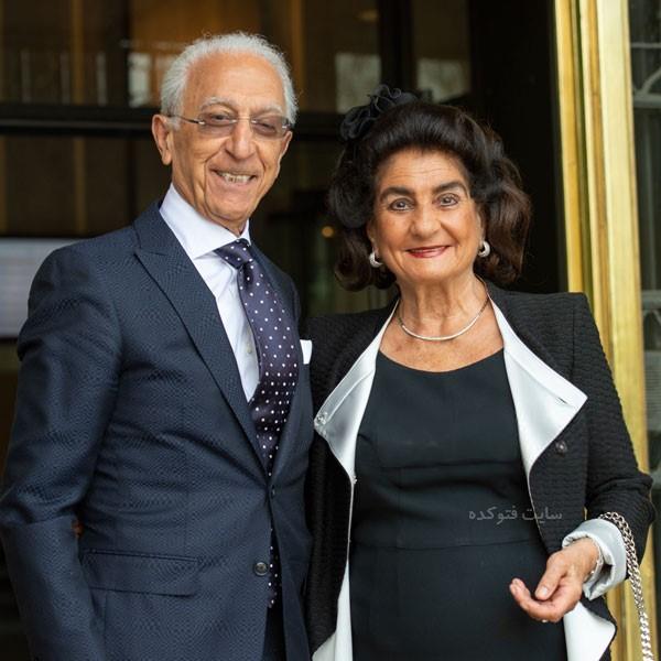 عکس پروفسور مجید سمیعی و همسرش مهشید + زندگی شخصی