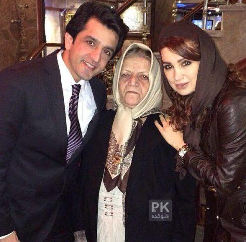 مجید یاسر و همسرش مهشید حبیبی و مادرش + بیوگرافی