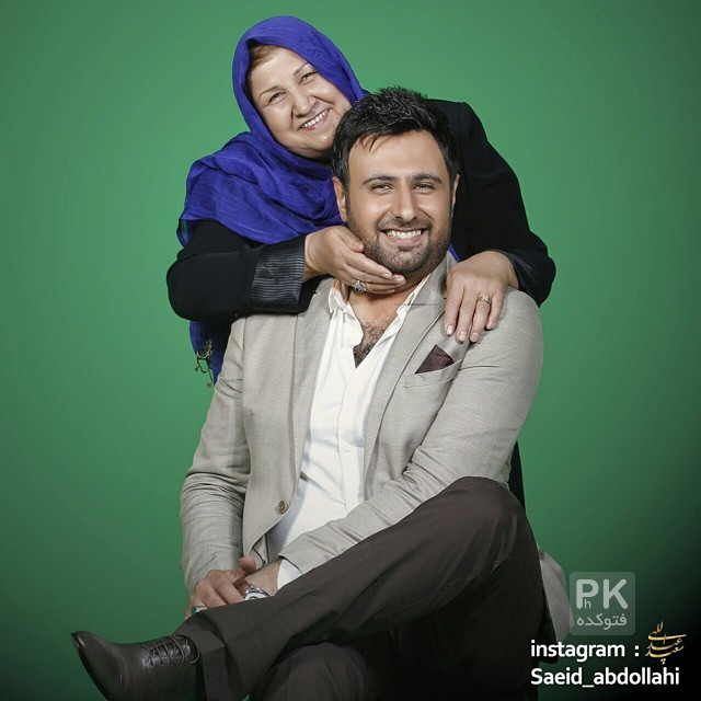 عکس محمد علیزاده و مادرش + بیوگرافی