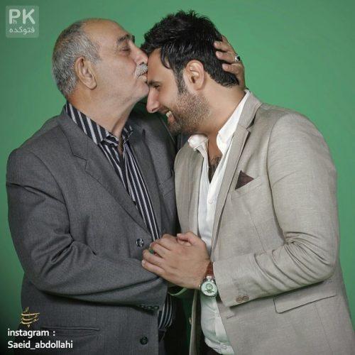 عکس محمد علیزاده و پدرش + بیوگرافی