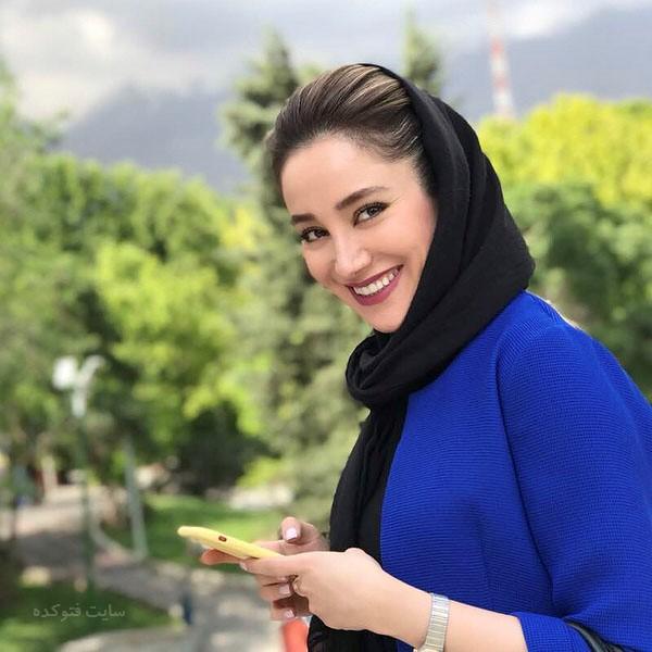 عکس بهاره افشاری بازیگران سریال ممنوعه