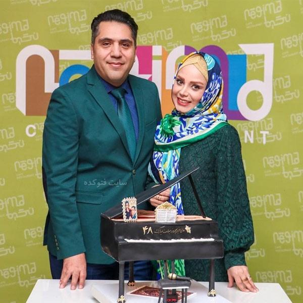 مانی رهنما خواننده و همسرش صبا راد