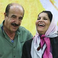 عکسها و بیوگرافی منوچهر آذری و همسرش