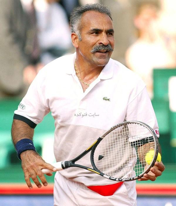 بیوگرافی منصور بهرامی تنیسور مشهور ایرانی - فرانسوی