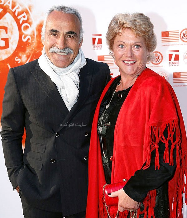 منصور بهرامی و همسرش فردریک + زندگی شخصی