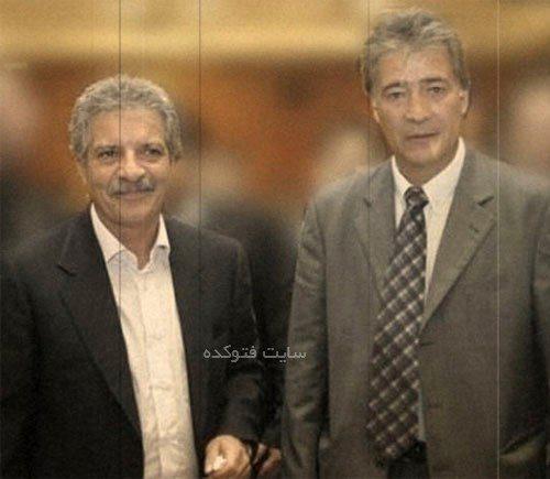 عکس ناصر حجازی و منصور پورحیدری