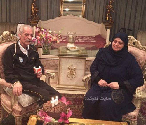 فریده شجاعی همسر منصور پورحیدری
