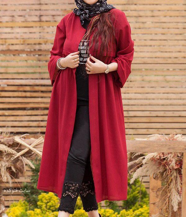 مدل مانتو لاکچری اینستا با حجاب برای تابستانها