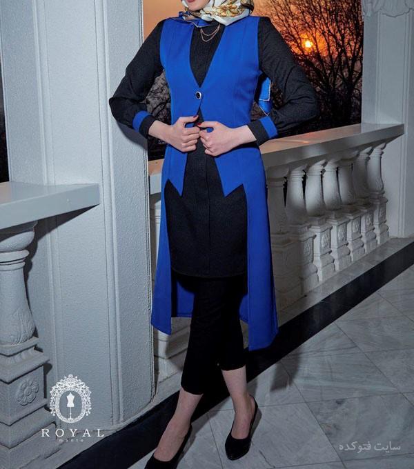 عکس مدل مانتو جدید زنانه برای عید نوروز 97