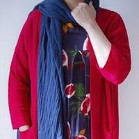 مدل مانتو جلو باز ۱۳۹۶ کیمونو با طرح های رنگی