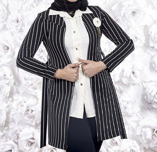 عکس جدیدترین مدل مانتو مجلسی 2017 شیک و جذاب