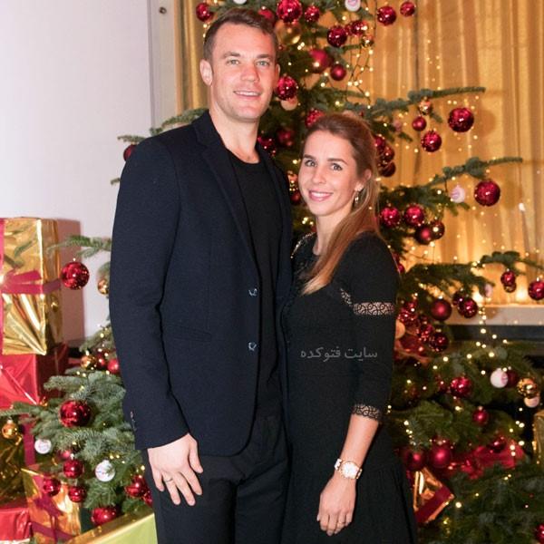 بیوگرافی مانوئل نویر و همسرش نینا وایس