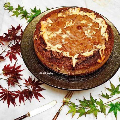طرز تهیه كيك ماربلد برانیز,آموزش طرز تهیه كيك ماربلد برانیز,نحوی درست کردن کیک خوشمزه خارجی,ماربلد برانیز,کیک ماربلد برانیز رو چطور درست کنیم,ماربلد برانیز