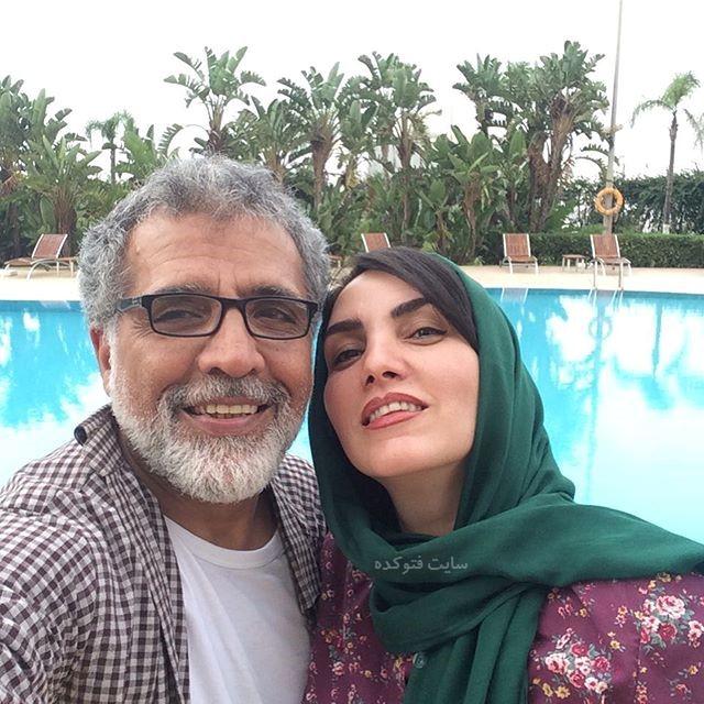 عکس و بیوگرافی بهروز افخمی و همسرش مرجان شیرمحمدی