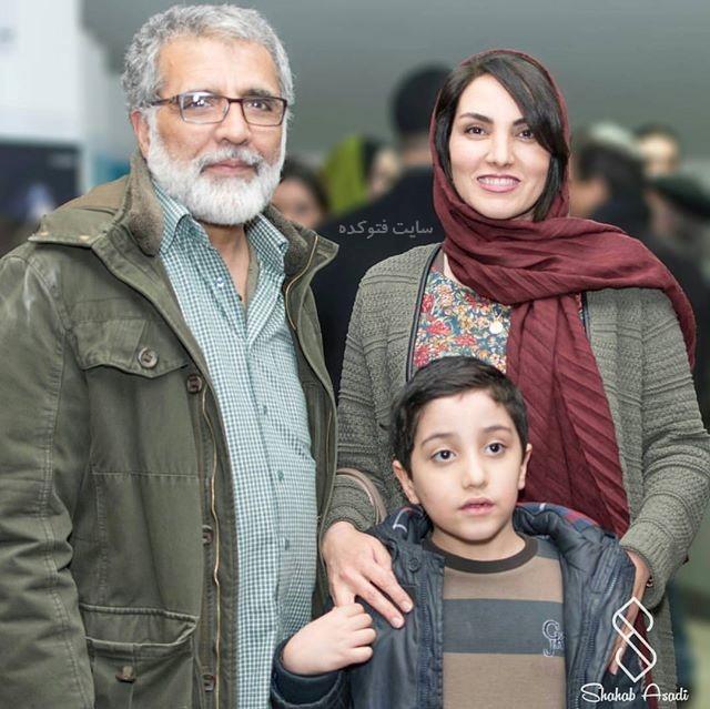 عک خانوادگی مرجان شیرمحمدی و بهروز افخمی