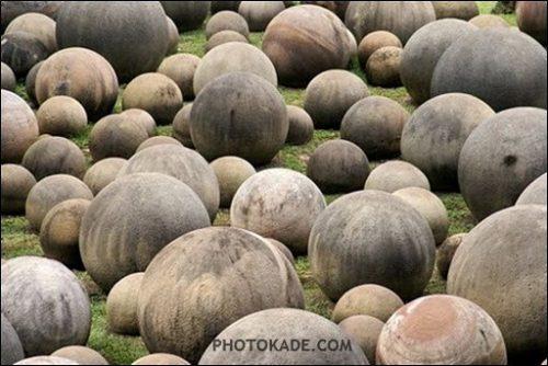 ماجرای توپهای سنگی غولپیکر کاستاریکایی