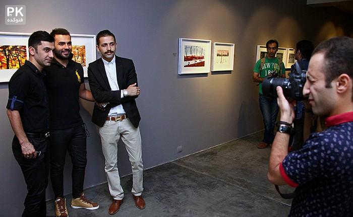 عکس های نمایشگاه نقاشی مریم حیدرزاده,عکس های جدید مریم حیدرزاده,عکس افتتاج نمایشگاه نقاشی مریم حیدرزاده با حضور بازیگران و هنرمندان,عکس نمایشگاه مریم حیدرزاده