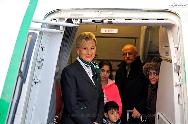 عکس خدمه بی حجاب آلمانی در مشهد,عکسهای کشف حجاب خدمه آلمانی در شهر مذهبی مشهد,آبروریزی در پرواز المان مشهد,عکس های,عکس خدمه زن بی حجاب در مشهد,زن بی حجاب