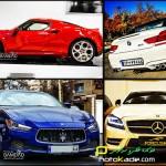 عکس ماشین های خارجی با پلاک ایران
