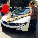 ماشین میلیاردی عروس در ایران