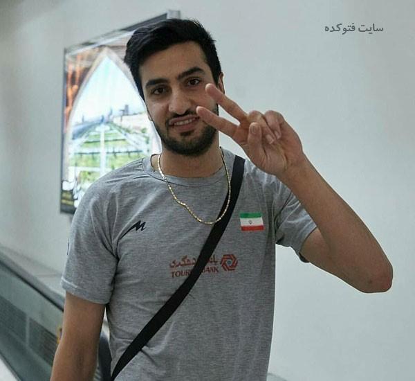 مسعود غلامی والیبال کیست