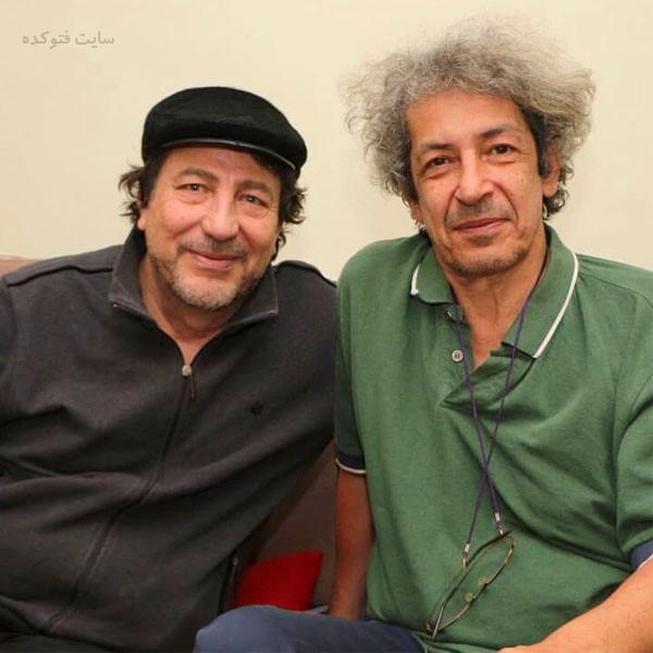 عکس مسعود دلخواه و نادر مشایخی + زندگی شخصی