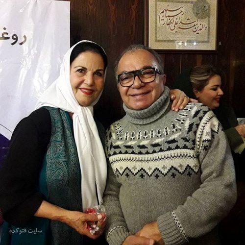 عکس مسعود فروتن و پوری بنایی + بیوگرافی کامل