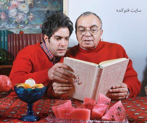 عکس مسعود فروتن و خواهر زاده اش امیرعلی نبویان + زندگینامه