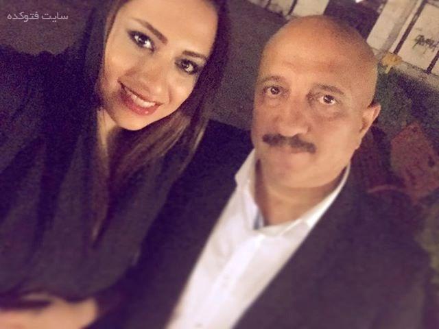 مسعود روشن پژوه و دخترش