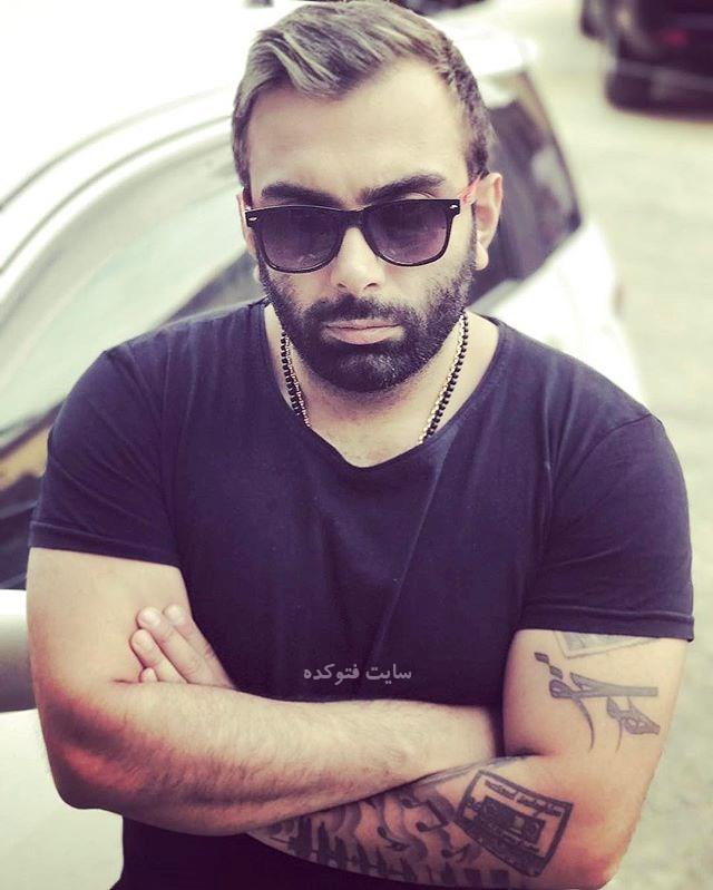 عکس مسعود صادقلو خواننده + زندگی شخصی