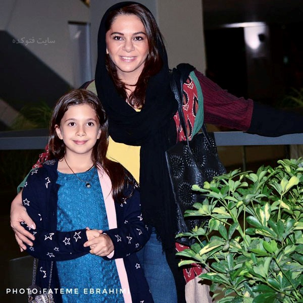عکس های مستانه مهاجر و دخترش نفس + زندگینامه