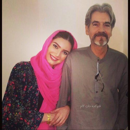 عکس متین ستوده و پدرش