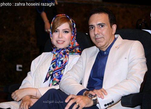 مزدک میرزایی و همسرش + زندگینامه
