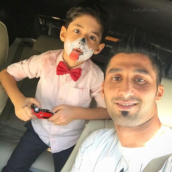عکس هایرشید مظاهری و پسرش + بیوگرافی